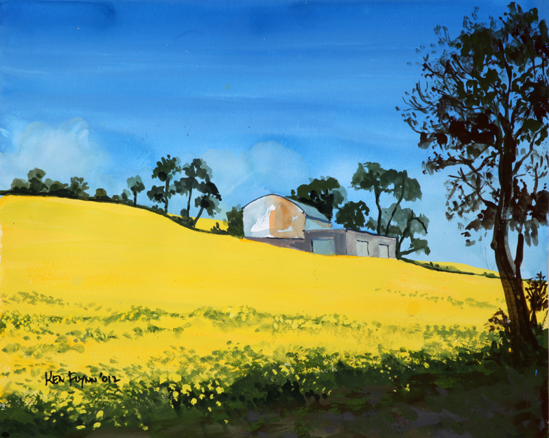 Rapeseed Fields, Wexford