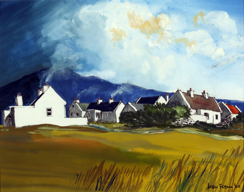 Slievemore from Dugort, Achill