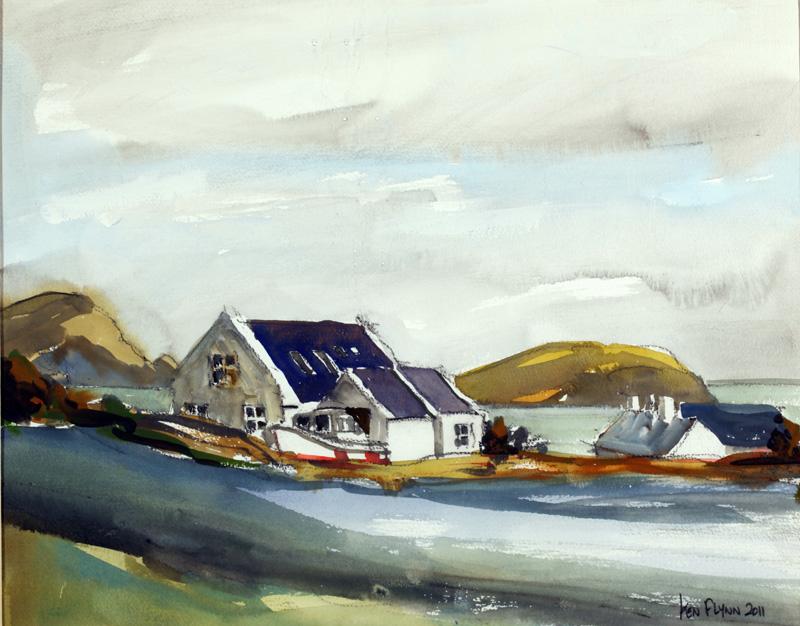 Keel Village, Achill