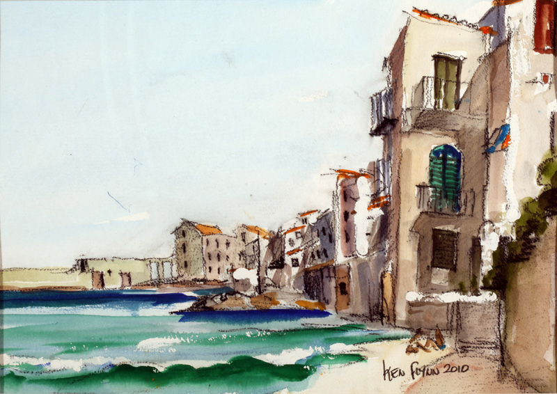 Cefalu Seafront, Sicily