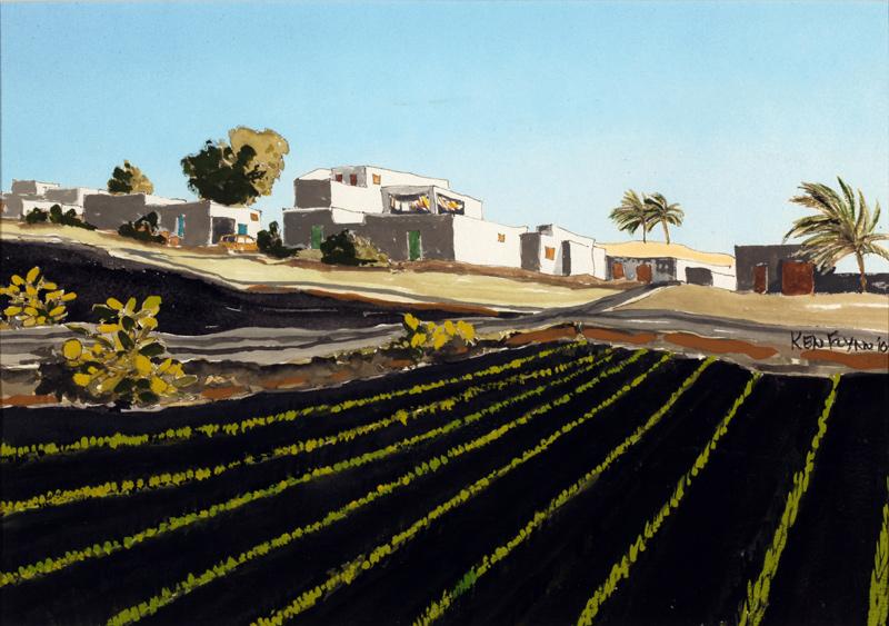 Mill & Onion Field, Majorca