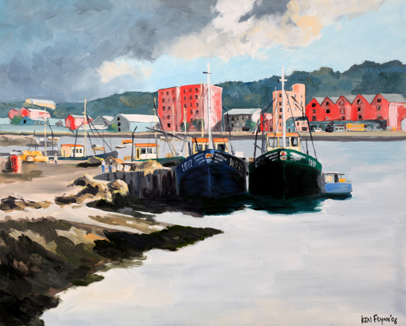 Fishing Boats, Wexford Town