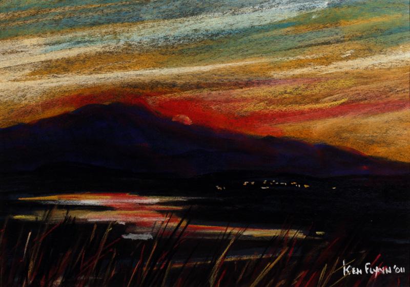 Late Evening Sunset, Achill