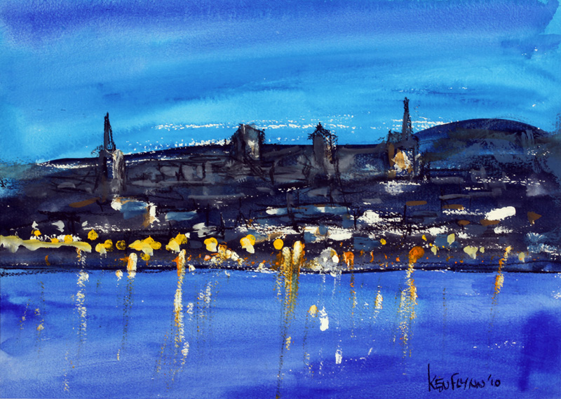 Evening Lights, Wexford Bridge